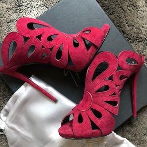 Giuseppe Zanotti Shoes - Giuseppe Zanotti Red Pumps